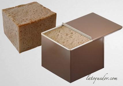 Moule à pain de mie carré anti-adhésif