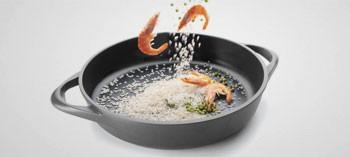 Plat à paella anti-adhésif induction