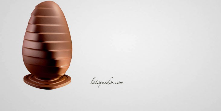 Moule chocolat œuf design N°2