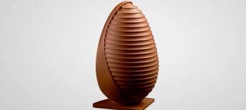 Moule chocolat œuf design N°3