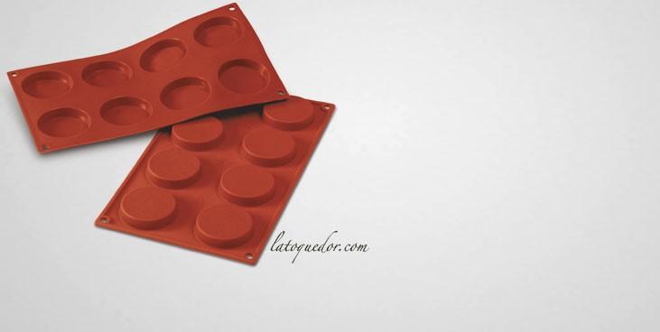 Moule silicone 8 florentins Silicon Flex