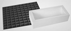 Moule à bûche silicone tapis chocolat