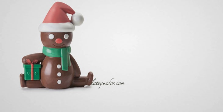 Moule à chocolat bonhomme ginger 3D