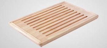 Planche à pain bambou avec ramasse miettes