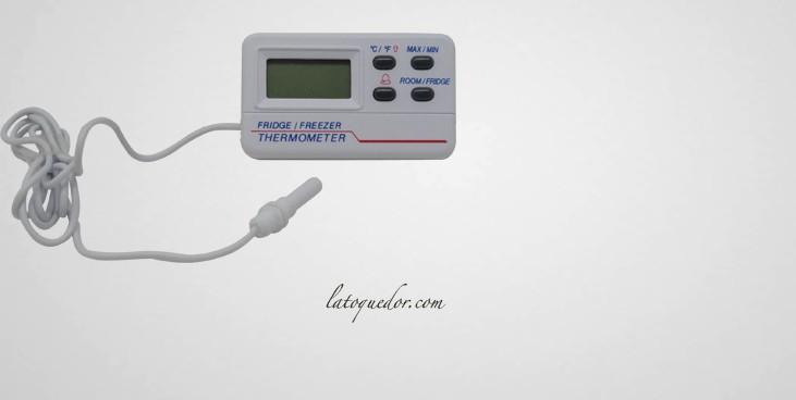 Thermomètre frigo avec alarmes -50/+70°C