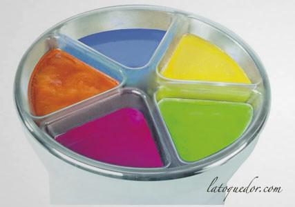Bac 5 couleur pour mini trempeuse Kali