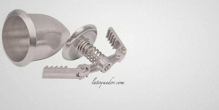 Moule à jambonneau aluminium avec presse - 830 g