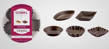Boite moules petits fours anti-adhésif (x30)
