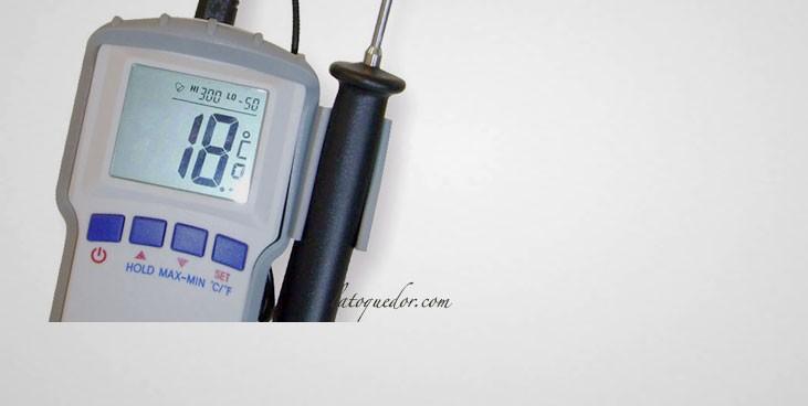 Thermometre A Sonde Professionnel Haccp 50 300 C Thermometre