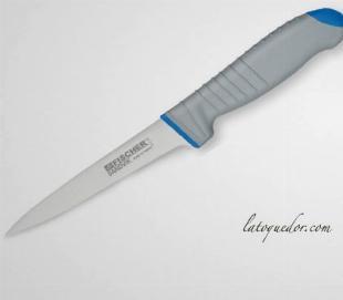 Couteau à désosser lame usée bi matière Sandvik Fischer