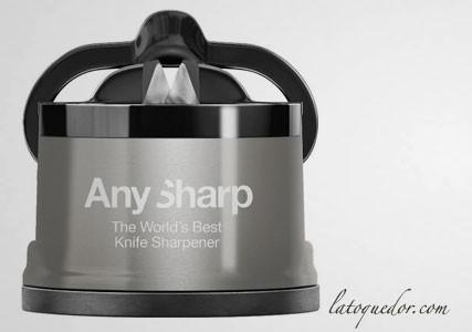 Aiguiseur à couteaux Anysharp Pro - Gris