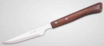 Couteau à steak Arcos manche bois lame microdentée