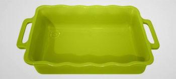 Plat à four rectangle Délices Appolia - Vert pomme
