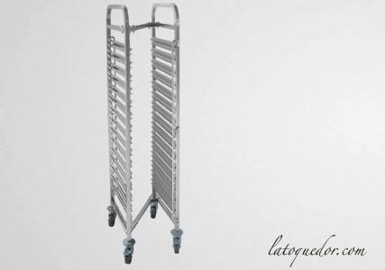 Echelle inox encastrable 15 niveaux GN 1/1