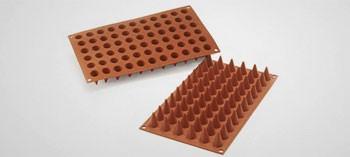 Moule silicone 66 cônes Silicon Flex