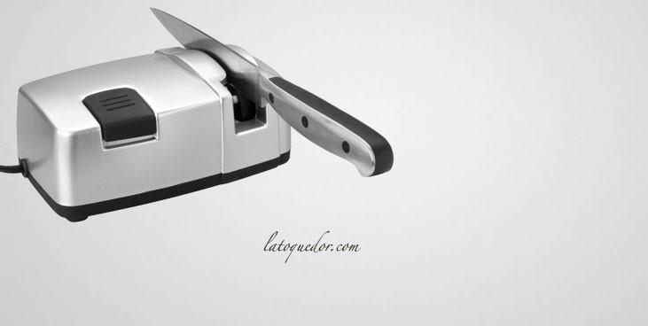 Petit aiguiseur électrique pour couteaux