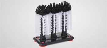 Lave verres de bar 3 brosses
