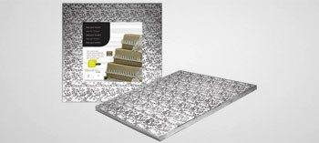 Plateau rectangle pour Wedding Cake et gâteaux