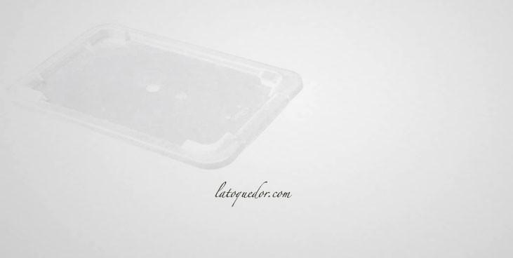 Couvercle transparent pour bac rectangulaire plat