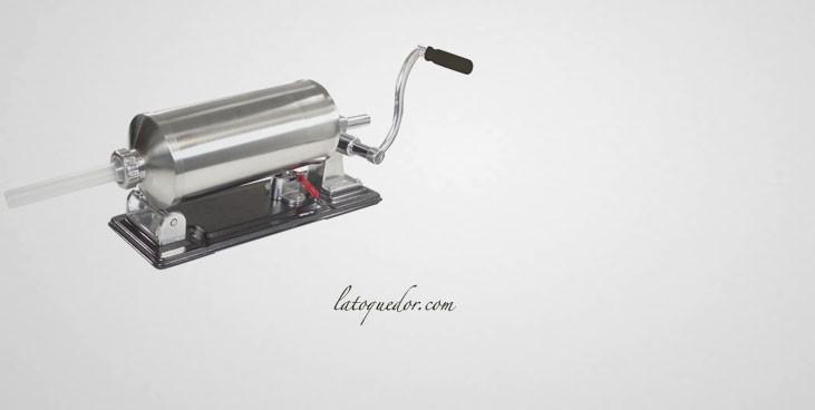 Poussoir à saucisse horizontal semi professionnel 3,5L