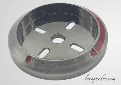 Enjoliveur bouton plancha Forge Adour Prestige V2