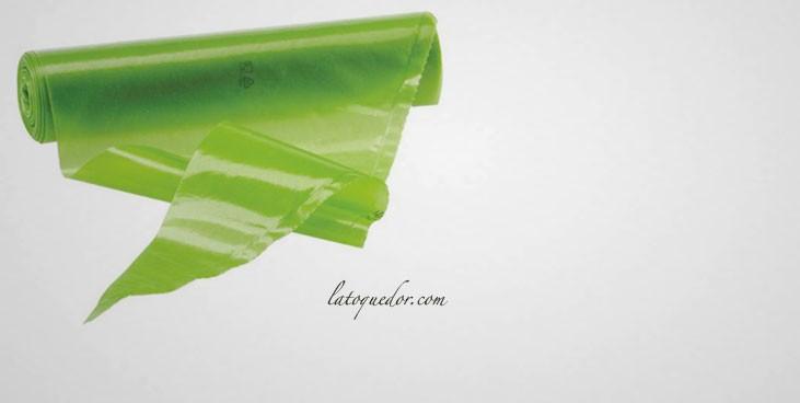 Poche à douille jetable antidérapante verte (x100)