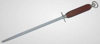 Fusil à aiguiser manche bois à mèche ronde