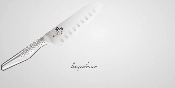 Couteau santoku japonais Seki Shoso - Kaï