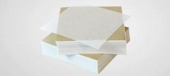 Papier à steak haché carré paraffiné (x1000)