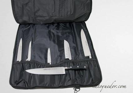 Trousse couteaux professionnels Riviera 5 pièces - Arcos