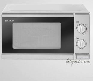 Four micro-ondes 20L avec grill 1050W - Hendi