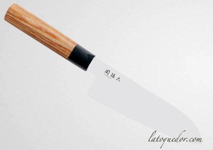 Couteau santoku Seki Magoroku Redwood - Kaï