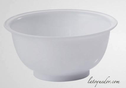 Bassine pâtissière plastique blanc