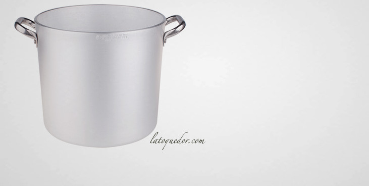 Marmite traiteur aluminium professionnel - Pentole Agnelli