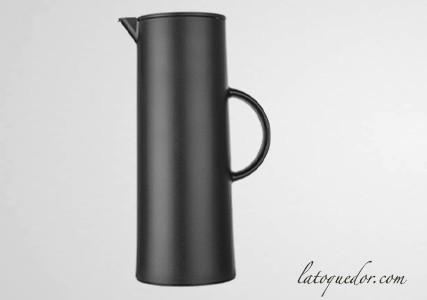 Pichet de service thermos design noir