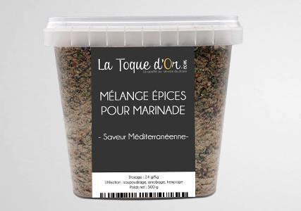Mélange épices pour marinade saveur provençale