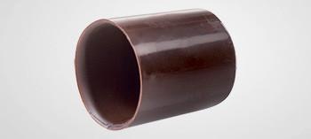 Moule à chocolat 28 mini tubes rond - Martellato