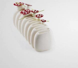 Moule à bûche silicone Crème - Pavoni