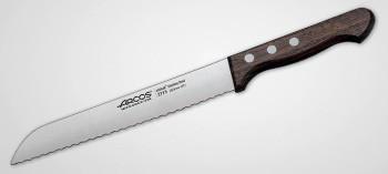 Couteau à pain manche bois 20 cm
