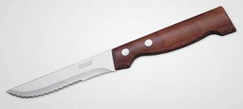 Couteau à steak Arcos Côte à l'Os manche bois lame microdenté