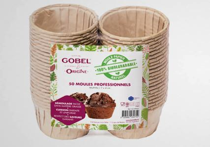 Moule à muffin en papier biodégradable (x50)