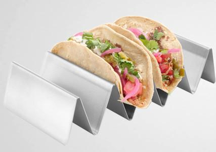 Support à tacos en inox