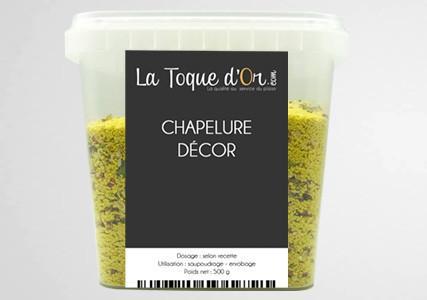 Chapelure décor