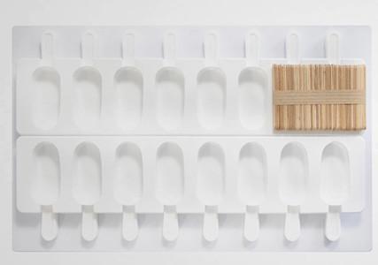 Moule à glace en silicone forme mini esquimaux