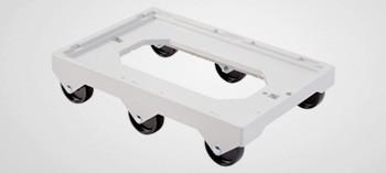 Socle rouleur universel 600x400 6 roues - Gilac