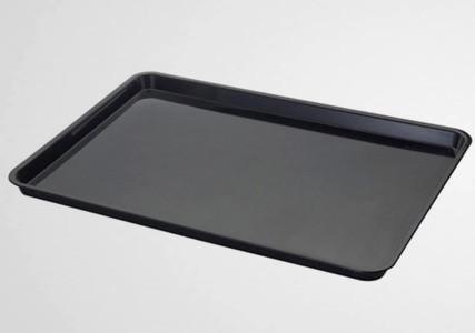 Plateau de service ABS noir 600x400 mm