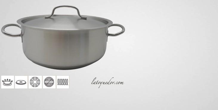Faitout inox Chef Classic avec couvercle
