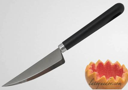 Couteau décor melon