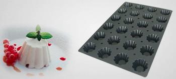Moule silicone professionnel briochette