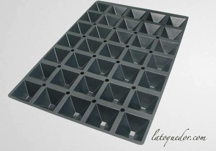 Moule silicone professionnel pyramide